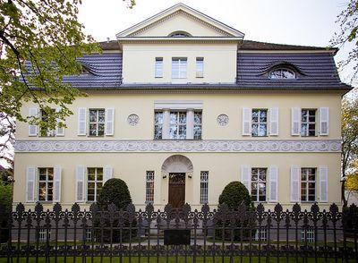 Das Stammhaus des Patzer Verlages in Berlin Grunewald